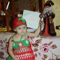 Новогодний костюм «Земляничка»