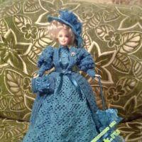 Платье для барби — работа Нади