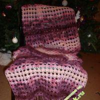 Ажурный шарф — работа Беляевой Татьяны