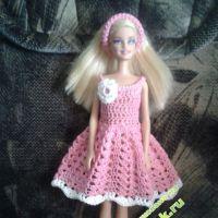 Платье для Барби — работа Галины