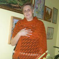 Рыжий палантин - работа Татьяны Беляевой