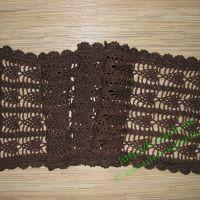 Легкий шарф в японском стиле