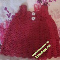 Платье для девочки — работа Устиновой Алены