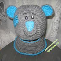 Шапка — шлем «Тедди»