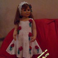 Платье «маки» — работа Татьяны Султановой