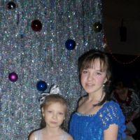 Вязаные детские платья — работы Анны