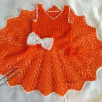 Вязаное крючком платье «Красотка»