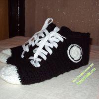 Тапочки — носочки «кеды»