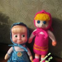 Вязаные куколки Матвеевой Елизаветы
