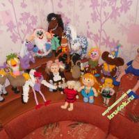 Вязаные игрушки Анны Суховой