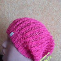Вязаные шапочки от Юлии