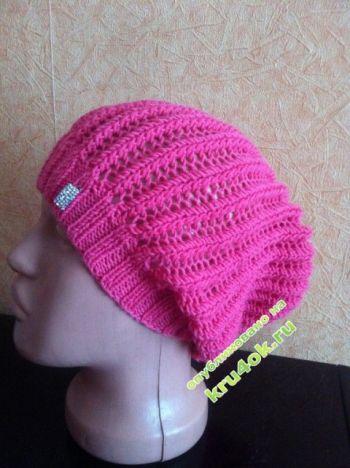 Вязаные шапочки от Юлии. Вязание крючком.