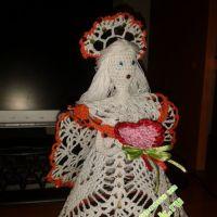 Вязаная крючком кукла — работа Альбины