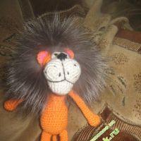 Вязаные крючком игрушки — работы Ксюши