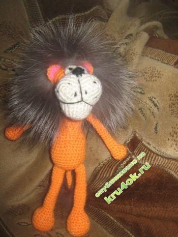Вязаные крючком игрушки – работы Ксюши. Вязание крючком.