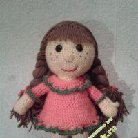 Вязаные игрушки — работы Юлии