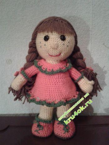 Вязаные игрушки – работы Юлии. Вязание крючком.