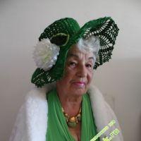 Вязаные шляпы — работы Валентины