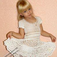Платье для девочки — работа  Натальи Чоловской