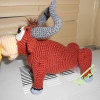 Вязаные игрушки — работы Анны