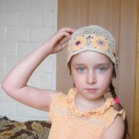 Летняя шапочка — работа Татьяны