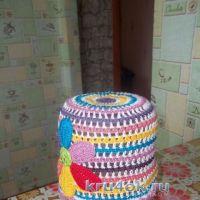 Вязаные крючком шапочки — работы Юлии