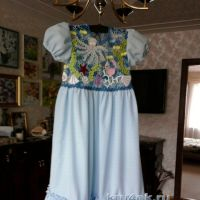 Детское платье — работа Людмилы Максютовой