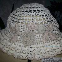 Летние шляпки, связанные крючком
