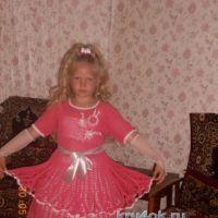 Вязаное крючком платье — работа Натальи