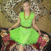 Вязаное крючком платье — работа Татьяны