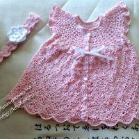 Платье и повязка для девочки