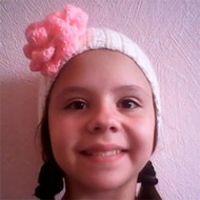 Вязаная повязка Кристины Афанасьевой