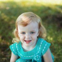 Детское платье крючком — работа Татьяны
