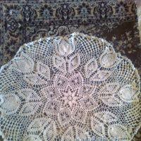 Вязаные крючком салфетки — работы  Валиуллиной Алии