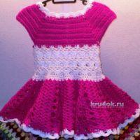 Платье для девочки — работа Светланы