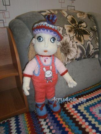 Вязаная крючком кукла — работа Елены