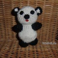 Игрушка панда — работа Марии