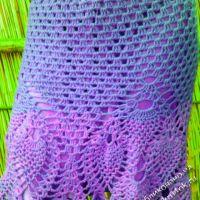Вязаная крючком юбка — работа Mary Uotson