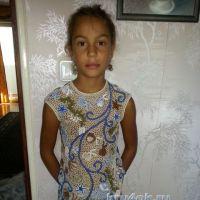 Топ для девочки — работа Людмилы Максютовой
