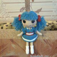 Вязаная кукла — работа Елены Сериченко