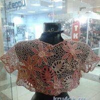 Вязаное болеро — работа Натальи Соколовой