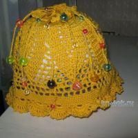 Вязаные шапочки — работы Марины Смирновой
