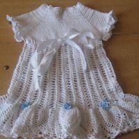 Детские платья крючком — работы Марины Смирновой