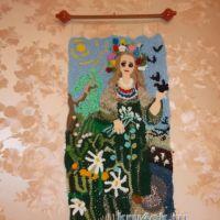 Вязаные игрушки — работы Людмилы Алексеевой