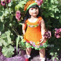 Детское платье «Фея цветов» — работа Ирины