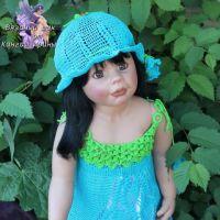 Сарафан и шляпка для девочки — работы Ирины Кангаш