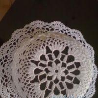 Вязаная крючком панамка — работа Натальи Зуевой