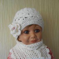 Шапочка и шарф — работы Татьяны Султановой