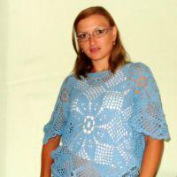 Вязаный крючком свитер — работа Татьны Шевченко
