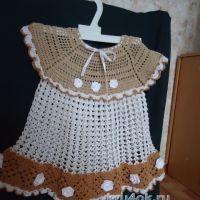 Детское платье — работа Галины Поповой